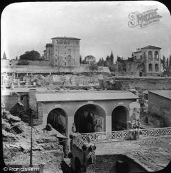 Rome, Palatine Hill, The Vestibule c.1875