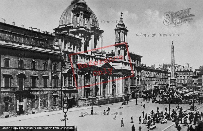 Photo of Rome, Piazza Navona c.1930