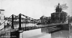 Rome, Ponte Ferro c.1872