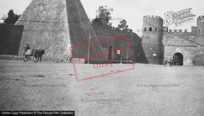 Photo of Rome, Pyramid Of Cestius c.1930
