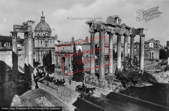Photo of Rome, Roman Forum c.1930