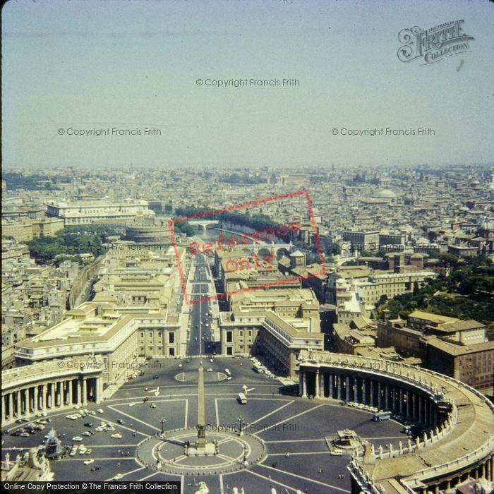 Photo of Rome, St Paul's Basilica 1967