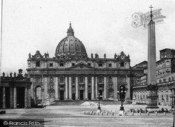 Rome, St Peter's Cathedral c.1865