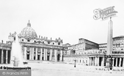 Rome, St Peter's Cathedral c.1872
