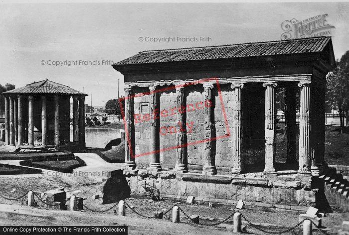 Photo of Rome, Temple Of Portunus c.1930