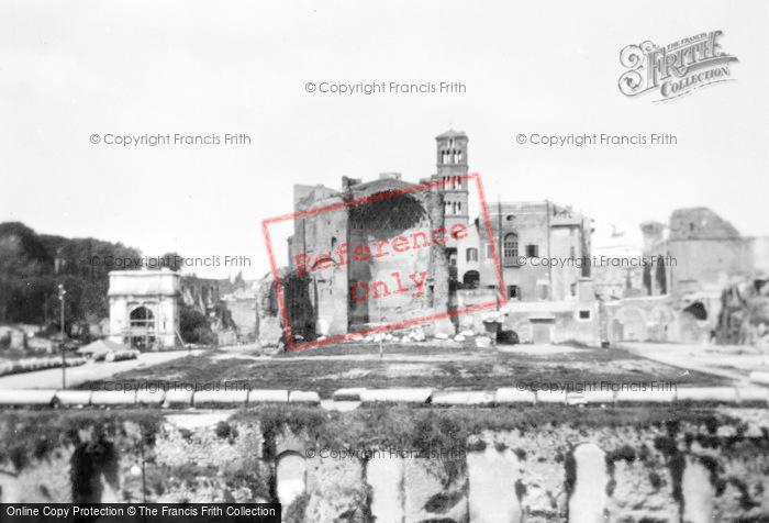 Photo of Rome, Temple Of Venus And Roma c.1930