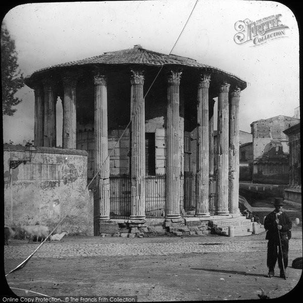 Photo of Rome, Temple Of Vesta c.1865