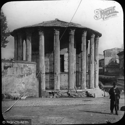 Rome, Temple Of Vesta c.1865