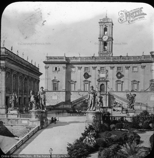 Photo of Rome, The Capitol c.1865