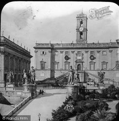 Rome, The Capitol c.1865