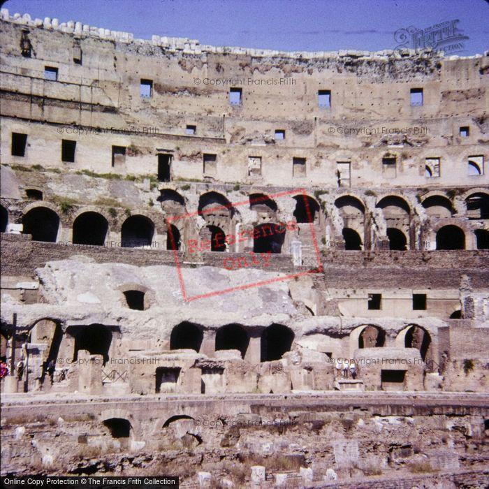 Photo of Rome, The Collosseum 1967