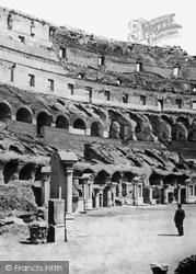 Rome, The Colosseum  c.1865