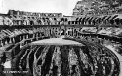 The Colosseum, Interior c.1930, Rome