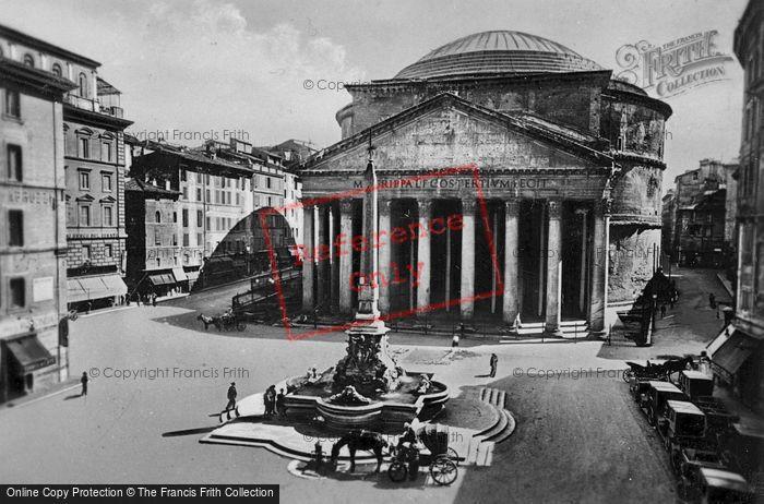 Photo of Rome, The Pantheon c.1930
