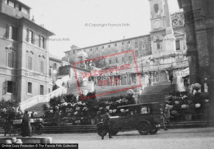 Photo of Rome, The Spanish Steps To Trinità Dei Monti c.1930
