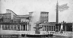 Rome, The Vatican c.1872