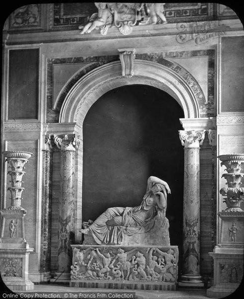 Photo of Rome, The Vatican, Sleeping Ariadne c.1865