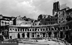 Trajan's Market c.1930, Rome
