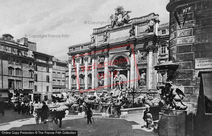 Photo of Rome, Trevi Fountain c.1930
