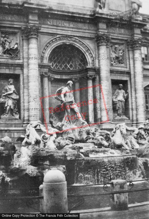 Photo of Rome, Trevi Fountain, Detail c.1930