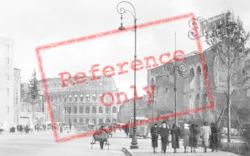Via Dei Fori Imperiali And Colosseum c.1930, Rome