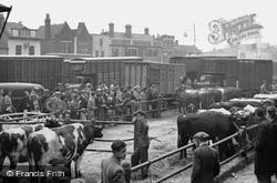 Cattle Market c.1950, Romford