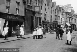 Romford, Children, High Street 1908