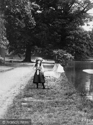 Romford, Girl With A Pram, Raphael Park 1908