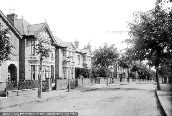 Photo of Romford, Manor Road 1908