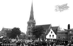 Romford, Market Place 1910