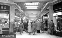 Quadrant Arcade c.1950, Romford