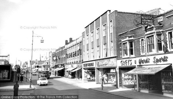 Photo of Romford, South Street c1965, ref. r52065