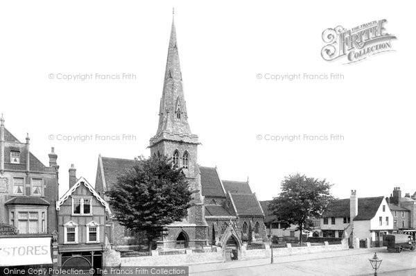 Romford, St Edward's, Church House and Wykeham Hall 1910