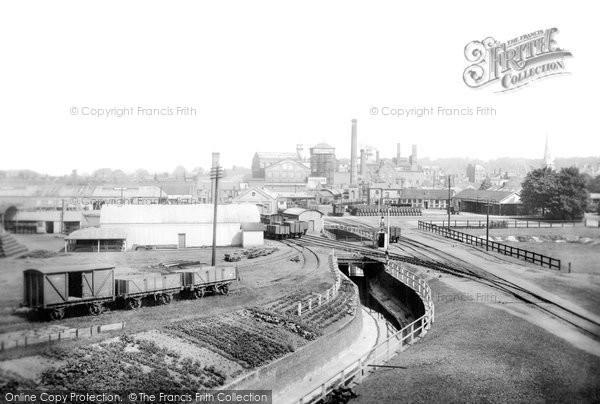 Romford, the Brewery 1908