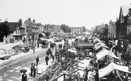 Romford, the Market 1908