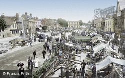 Romford, The Market 1908