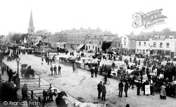 Romford, The Market 1910
