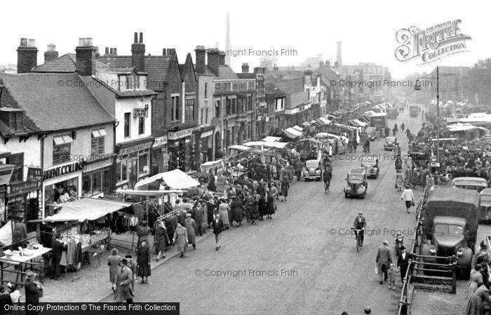 Romford, the Market c1950
