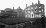 Romford, the Old Church Hospital 1909