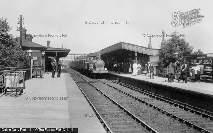 Romford, The Railway Station 1908