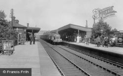 The Railway Station 1908, Romford