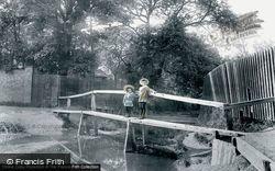Romford, The River Rom At Stickleback Lane 1908