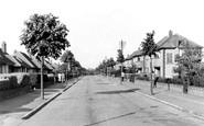 Romford, Warren Drive, Elm Park c1950