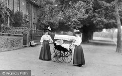 Romford, Women And Pram 1908