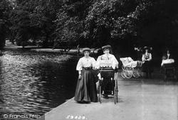 Romford, Women With Pram 1908
