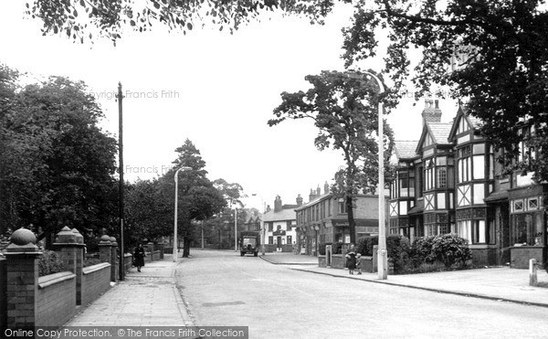 Photo Of Romiley Compstall Road C1955