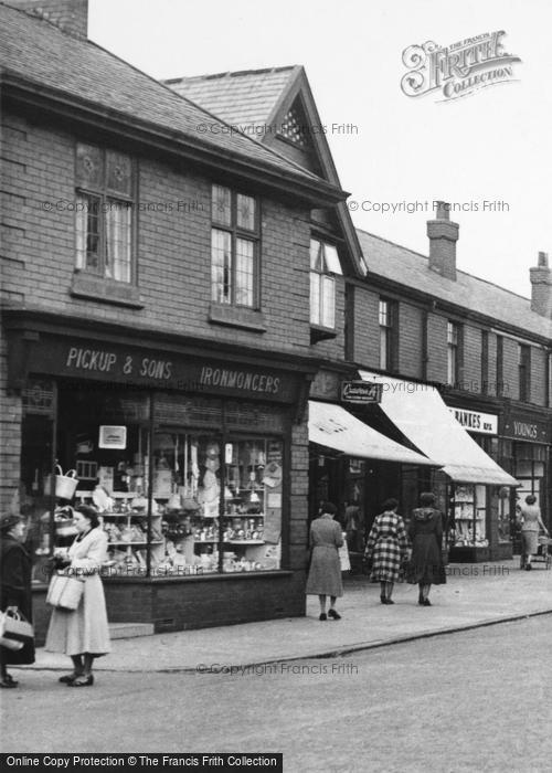 Photo Of Romiley Pickup Sons Ironmongers Compstall Road C1955