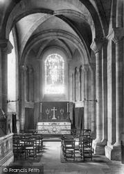 Romsey, Abbey Chapel 1903