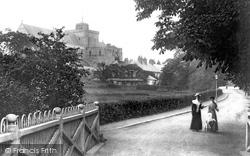 Romsey, Abbey Walk 1904