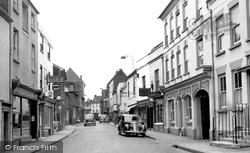 Romsey, Bell Street c.1955
